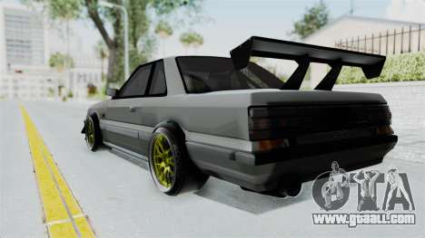 Nissan Skyline R31 for GTA San Andreas left view