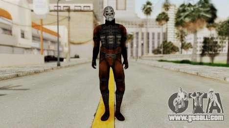 Mass Effect 2 Batarian for GTA San Andreas second screenshot