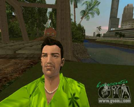 Weed T-Shirt for GTA Vice City second screenshot