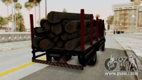 FAP Kamion za Prevoz Trupaca for GTA San Andreas left view