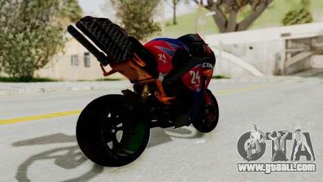 Honda CBR1000RR Mini for GTA San Andreas left view