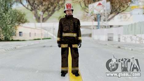GTA 5 Fireman SF for GTA San Andreas second screenshot