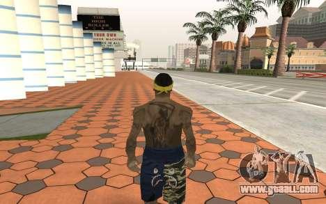Los Santos Vagos Gang Member for GTA San Andreas second screenshot