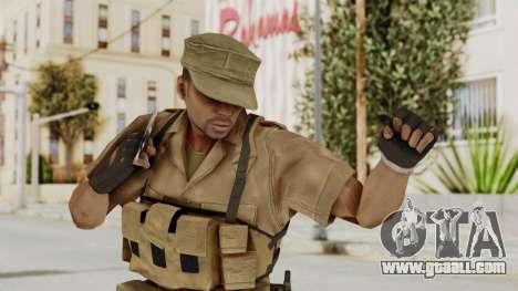 MGSV Phantom Pain CFA Combat Vest 1 v1 for GTA San Andreas