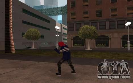New homeless v3 for GTA San Andreas third screenshot