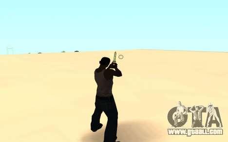 Desert eagle gradient for GTA San Andreas third screenshot