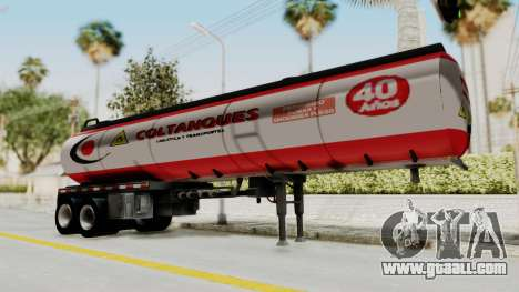 Trailer de Conbustible for GTA San Andreas