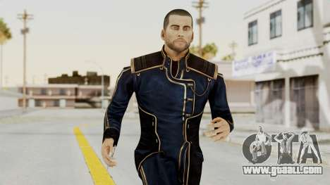 Mass Effect 3 Shepard Formal Alliance Uniform for GTA San Andreas