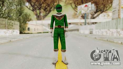 Power Ranger Zeo - Green for GTA San Andreas second screenshot