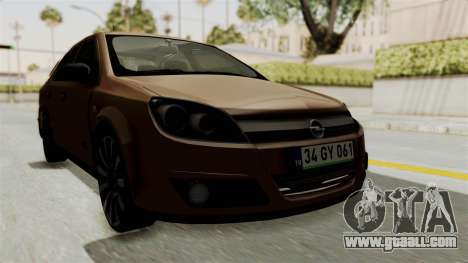 Opel Astra Sedan 2011 for GTA San Andreas right view