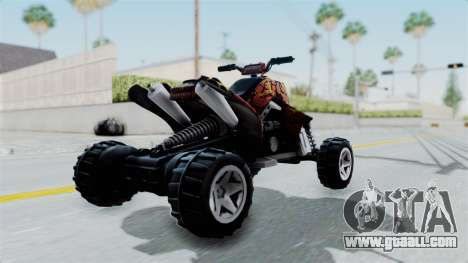 Sand Stinger from Hot Wheels v2 for GTA San Andreas left view