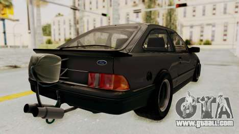 Ford Sierra Mk1 Drag Version for GTA San Andreas left view