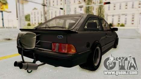 Ford Sierra Mk1 Drag Version for GTA San Andreas left view