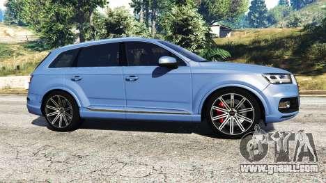 GTA 5 Audi Q7 2015 [rims1] left side view