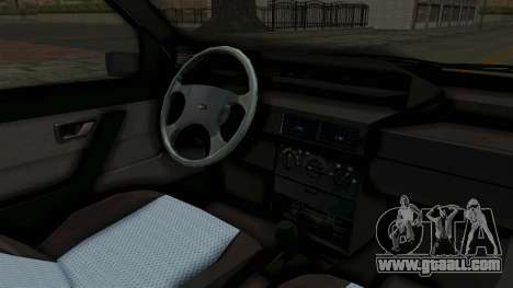 Fiat Tempra for GTA San Andreas inner view