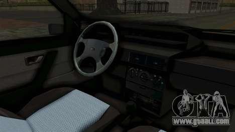 Fiat Tempra for GTA San Andreas inner view