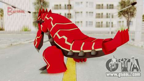 Mega Groudon for GTA San Andreas third screenshot