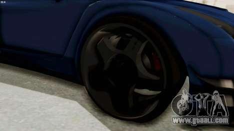 GTA 5 Annis Elegy Twinturbo Spec for GTA San Andreas back view