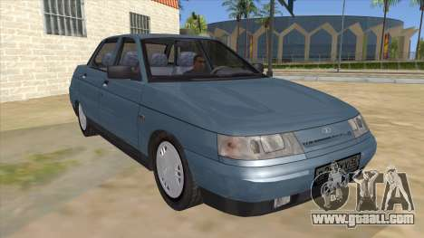 VAZ 2110 for GTA San Andreas back view
