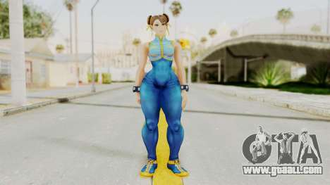 Chun Li Big Ass for GTA San Andreas second screenshot