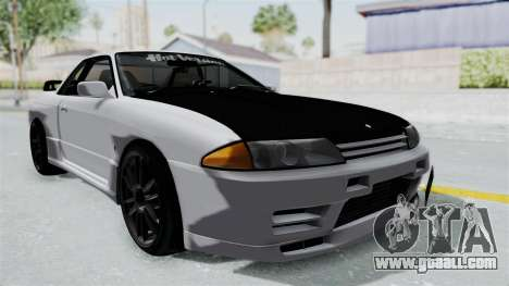 Nissan Skyline BNR32 Hot Version for GTA San Andreas right view