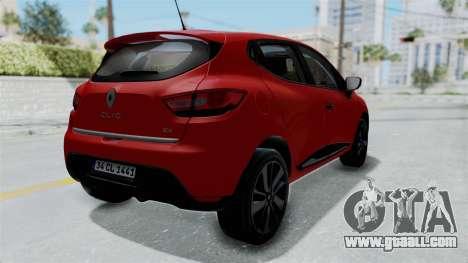 Renault Clio 4 HQLM for GTA San Andreas right view