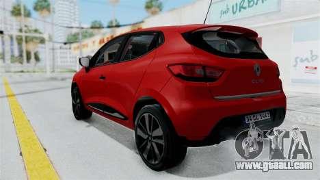 Renault Clio 4 HQLM for GTA San Andreas left view