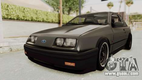 Ford Sierra Mk1 Drag Version for GTA San Andreas right view