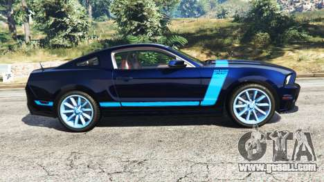 GTA 5 Ford Mustang Boss 302 2013 left side view