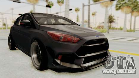 Ford Focus RS 2017 Rocket Bunny for GTA San Andreas right view