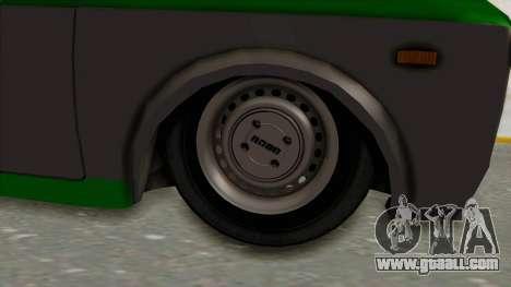 Fiat 128 De Picadas for GTA San Andreas back view