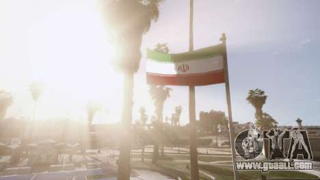 GTA 5 Iranian Flag third screenshot