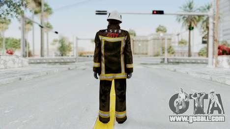 GTA 5 Fireman SF for GTA San Andreas third screenshot