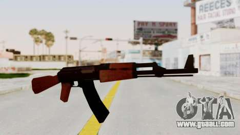 Liberty City Stories AK-47 for GTA San Andreas second screenshot
