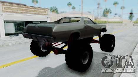 Chevrolet El Camino 1973 Monster Truck for GTA San Andreas left view