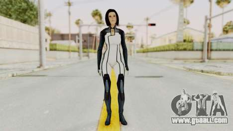 Mass Effect 3 Dr. Eva New Short Hair for GTA San Andreas second screenshot