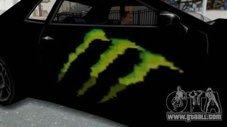 Monster Elegy for GTA San Andreas back view