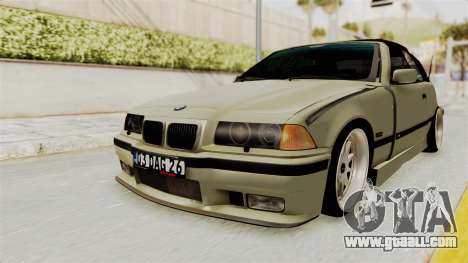 BMW 320CI E36 for GTA San Andreas back left view