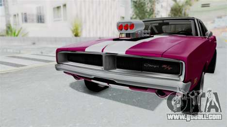 Dodge Charger 1969 Drag for GTA San Andreas right view