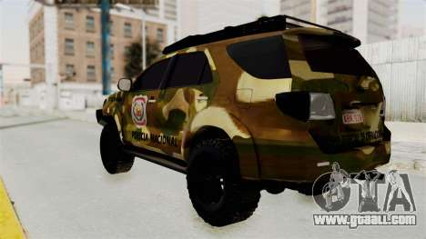 Toyota Fortuner 4WD 2015 Paraguay for GTA San Andreas left view