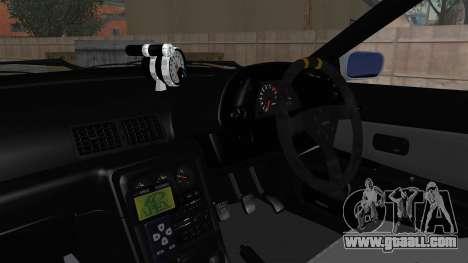Nissan Skyline BNR32 Hot Version for GTA San Andreas inner view