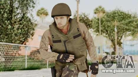 MGSV Phantom Pain RC Soldier Vest v1 for GTA San Andreas