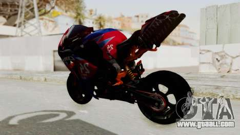 Honda CBR1000RR Mini for GTA San Andreas back left view