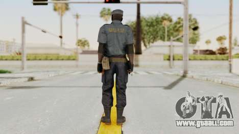 MGSV Phantom Pain Zero Risk Security Combat v1 for GTA San Andreas third screenshot