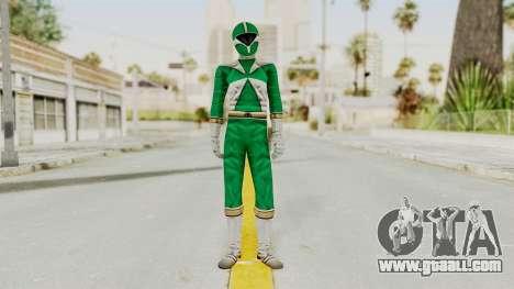 Power Rangers Lightspeed Rescue - Green for GTA San Andreas second screenshot