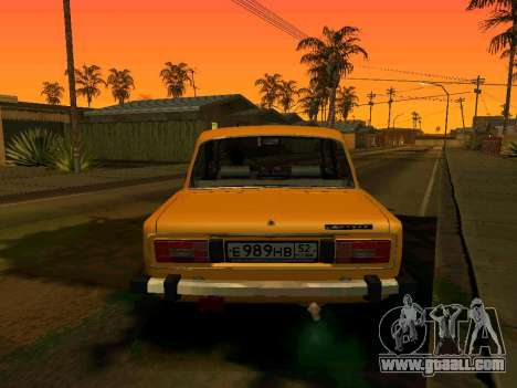 VAZ 2106 Stoke for GTA San Andreas left view