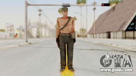 MGSV Phantom Pain Rogue Coyote Soldier Naked v1 for GTA San Andreas second screenshot