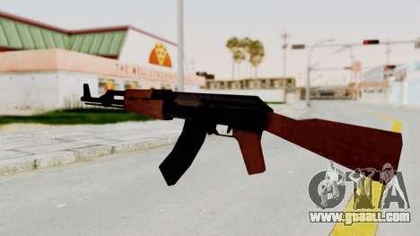 Liberty City Stories AK-47 for GTA San Andreas third screenshot