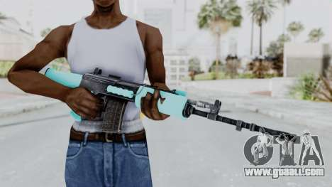 IOFB INSAS Light Blue for GTA San Andreas third screenshot