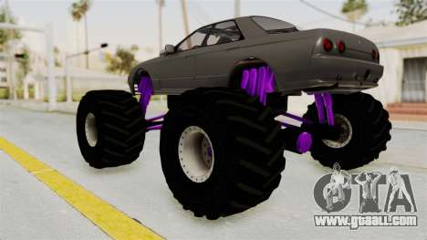 Nissan Skyline R32 4 Door Monster Truck for GTA San Andreas left view